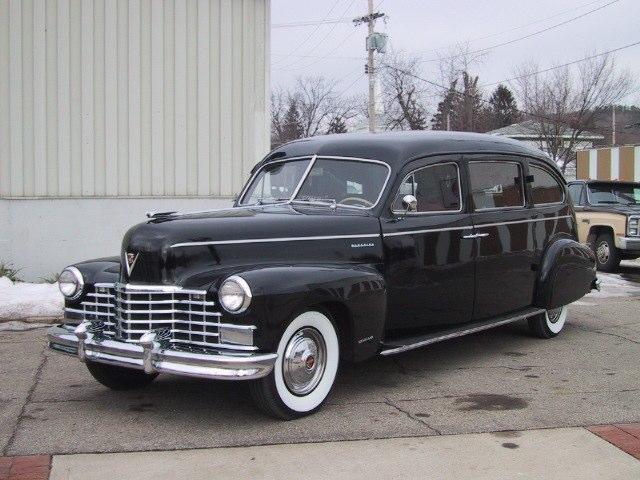 Cadillaclimousine Style Hearsebysuperior Coach Company