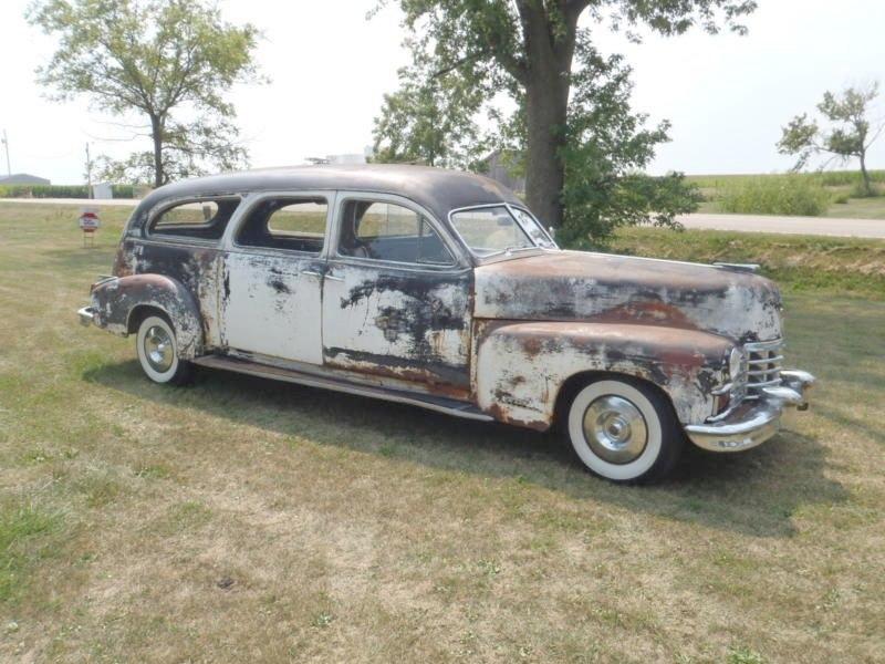 1947 Cadillac Hearse Ambulance Combo By