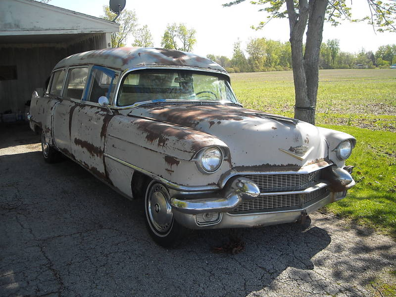 1956 Hearse Ambulance by Miller-Meteor