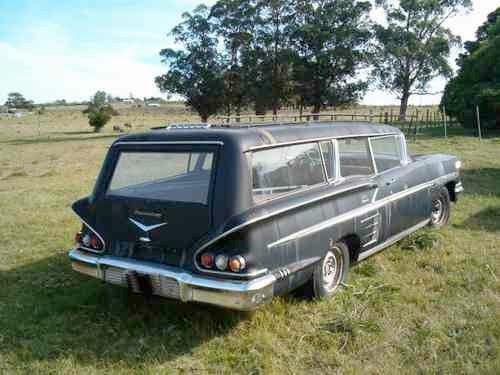 1958 Chevy Impala Hearse used in Uruguay