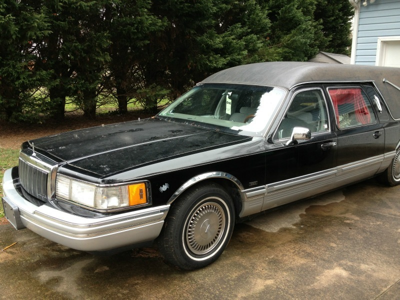 1992 Lincoln Town Car Eagle Hearse